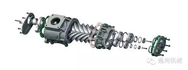 螺杆空压机工作原理,动画介绍,能够更形象