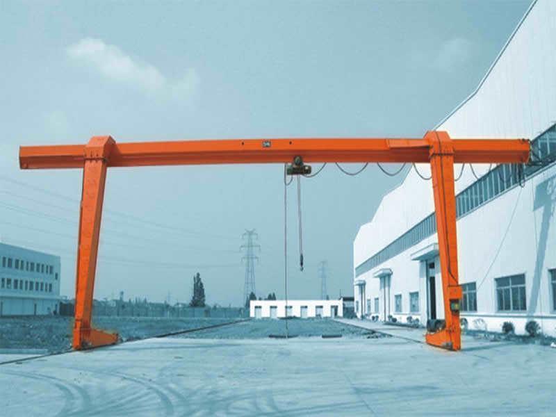 L型电动葫芦双外悬龙门吊