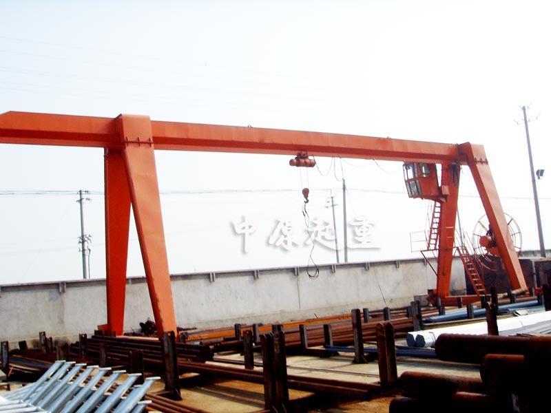 包厢单悬龙门吊
