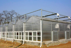 智能控温温室大棚定制建筑
