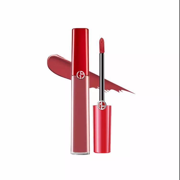 【香港直邮】意大利 ARMANI/阿玛尼 臻致丝绒红管唇釉 #501 6.5ML