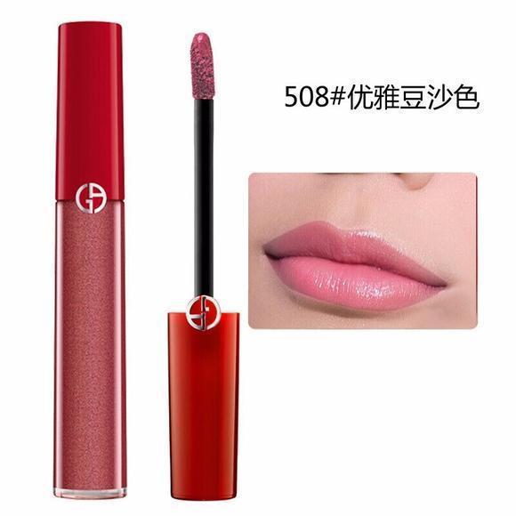 【香港直邮】 ARMANI/阿玛尼 臻致丝绒红管唇釉 #508