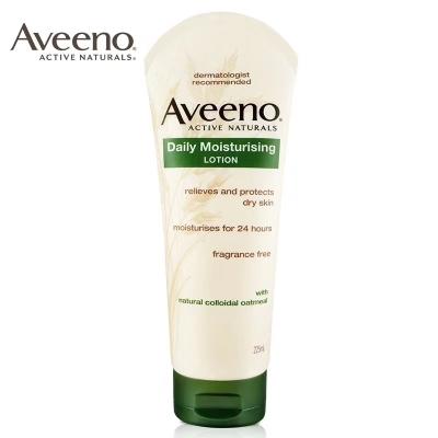 【一般贸易中文标】美国艾维诺天然燕麦成人每日倍护润肤乳(无香型)