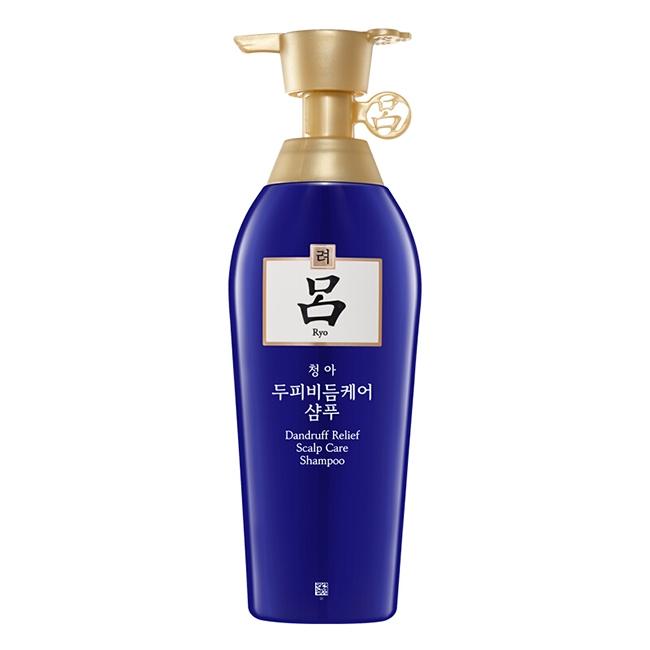 韩国吕Ryo代理 吕Ryo蓝吕舒盈清润净澈去屑洗发水货源