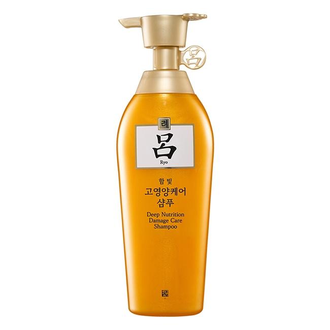 韩国吕Ryo代理 吕Ryo含光耀护金萃养护洗发水货源