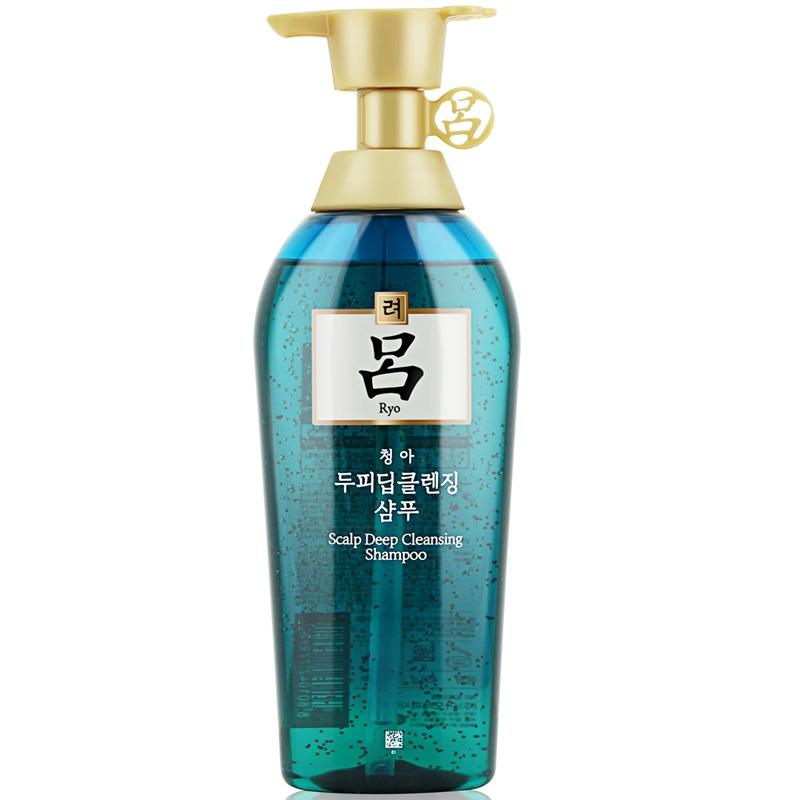 保税货源 代购韩国Amore/爱茉莉绿吕控油去屑洗发水 500ml