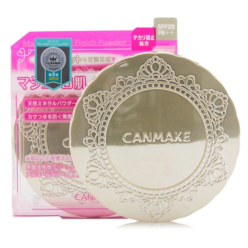 【香港直邮货源】代购日本井田CANMAKE棉花糖控油蜜粉饼 ML瓷白色