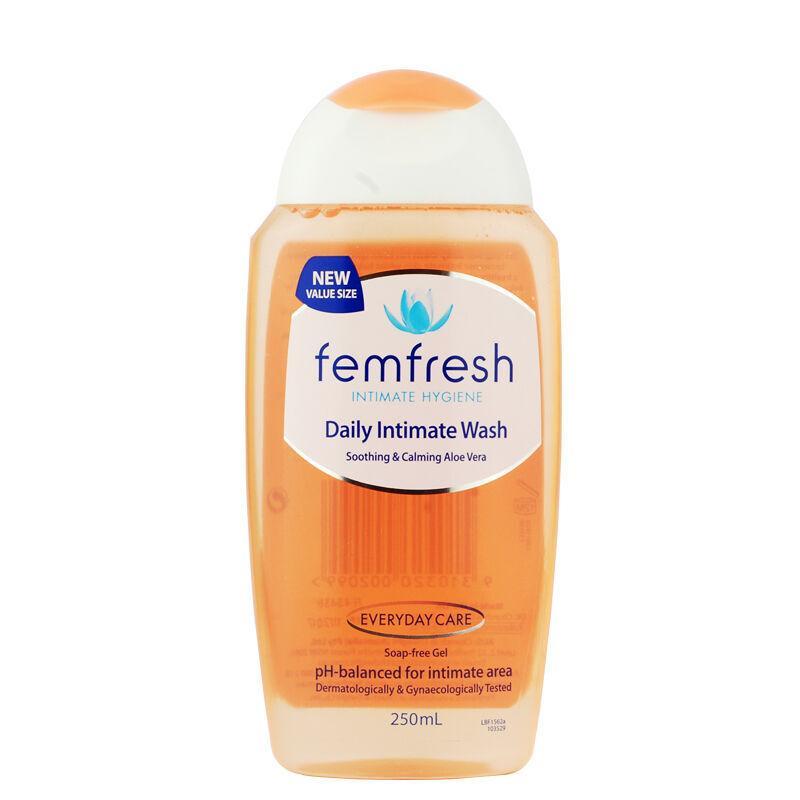 【香港直邮货源】代购澳洲Femfresh女性私处护理液250ml