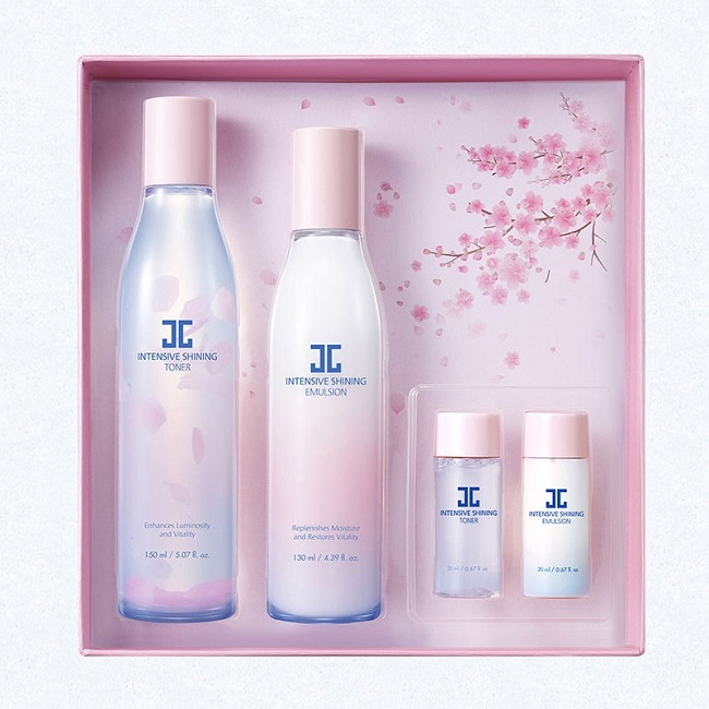 一般贸易货源 代购韩国JAYJUN捷俊密集焕亮水乳套盒
