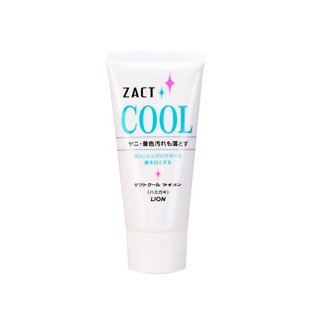 一般贸易货源【一般贸易中文标】代购日本狮王LION牙膏ZACT去烟渍冰爽牙膏 130g/支