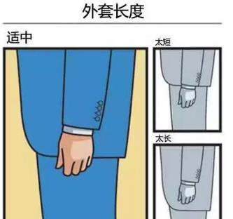 西服外套长度