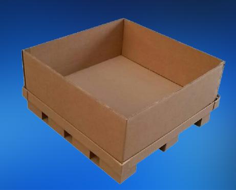 带托重型包装纸箱