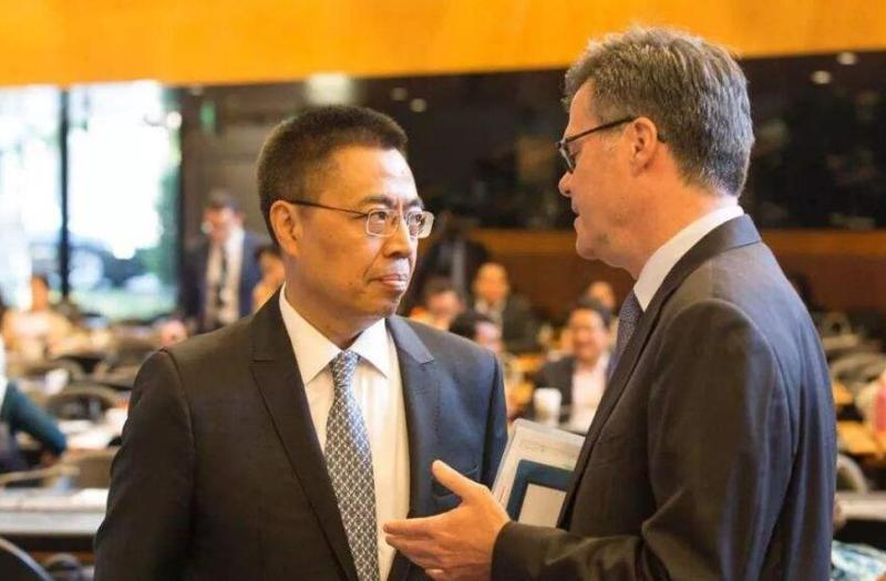 中国常驻世界贸易组织代表团代表、特命全权大使张向晨