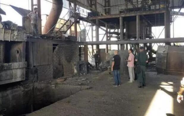 柬埔寨钢铁工厂爆炸