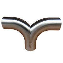 卫生级Y型焊接三通