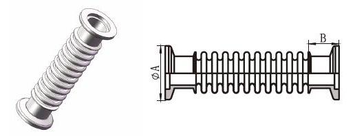 KF卡箍式波纹管