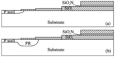 多级场板终端结构