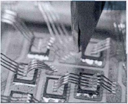 粗铝线键合实物图
