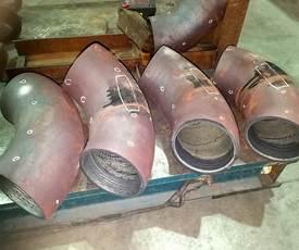 Inconel800镍基合金堆焊弯头