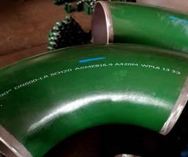 低温钢ASTM A420WPL3弯头