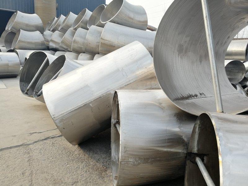 大口径不锈钢对焊管件