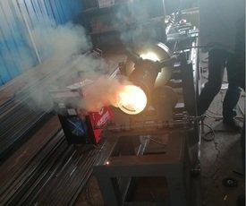 耐磨堆焊钢管设备