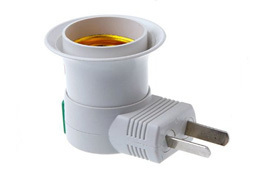 E27 to US Plug Adapter Switch