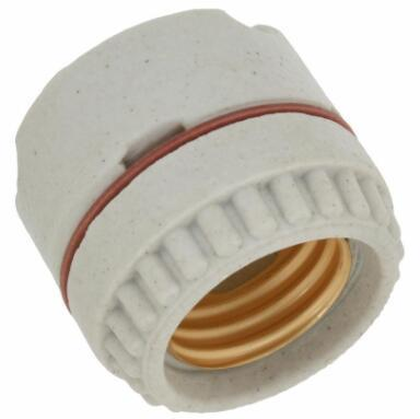 Porcelain medium base socket Back Wired