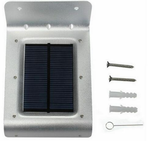 Waterproof Motion Sensor white led solar lights