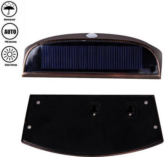 Stair solar step lights 8 LED IP65