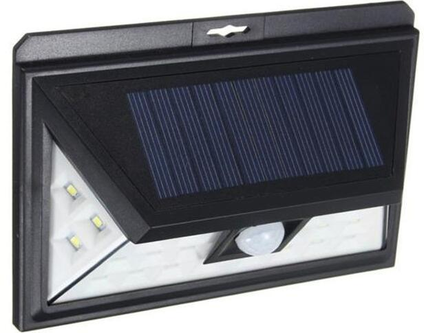 24 LED wall mounted solar lamps with 3 LEDs