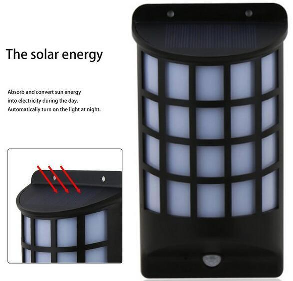 solar powered yard lights led