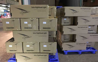 brightest solar flood lights outdoor packaging loading