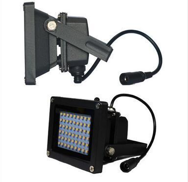 54 LED solar powered flood light with remote control Outdoor