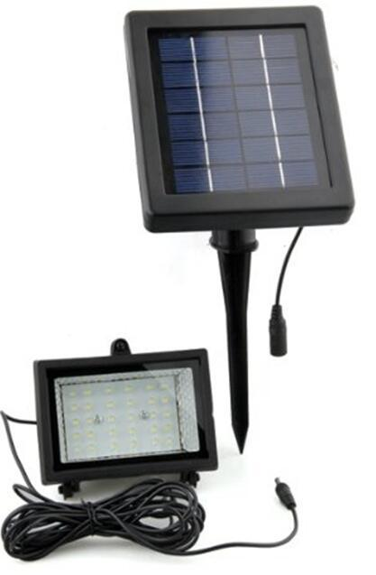 30 LED 2.5 watt sensor solar garden flood lights Outdoor