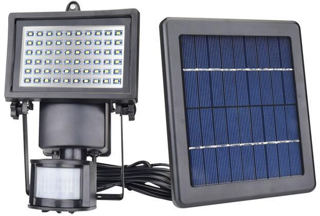 60 led solar motion sensor flood lights 3 watt
