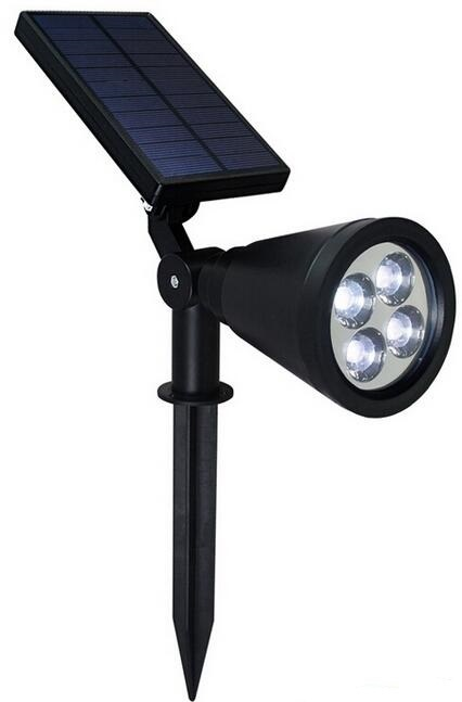 best led solar spot lights outdoor