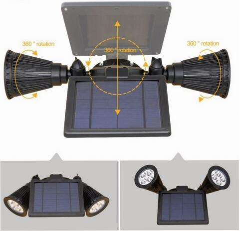 Waterproof LED Solar best motion sensor flood lights