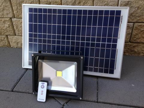 large solar flood lights