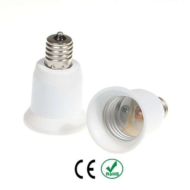 E14 to E27 lamp socket adapter with CE