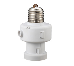 Motion sensor screw in socket E27 B22 E14