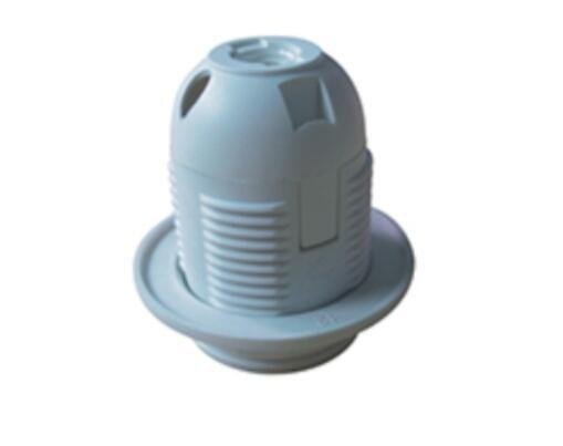 E27 Full-Thread plastic bulb holder