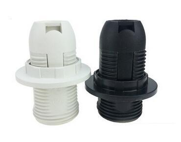 Plastic Push in Half-Thread E14 Lamp socket