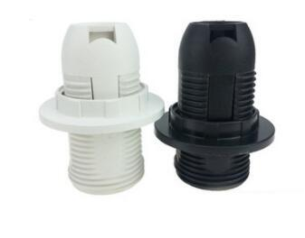 Half-Thread plastic holder E14