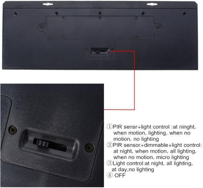 How to use 80 LED brightest solar lights Motion Sensor Light