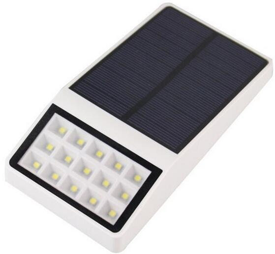 15LED solar wall lights Microwave Radar Sensor