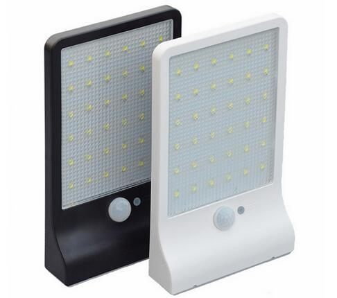 450LM 36 LED white Ultrathin solar wall lights