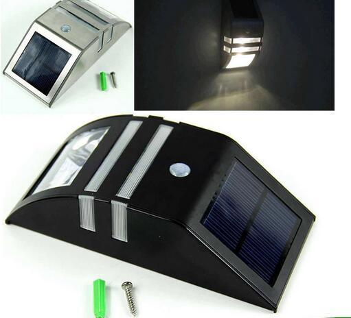 solar panel backyard lights with CE