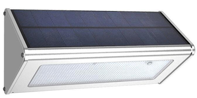 4 Modes Aluminium Alloy solar wall lights for garden