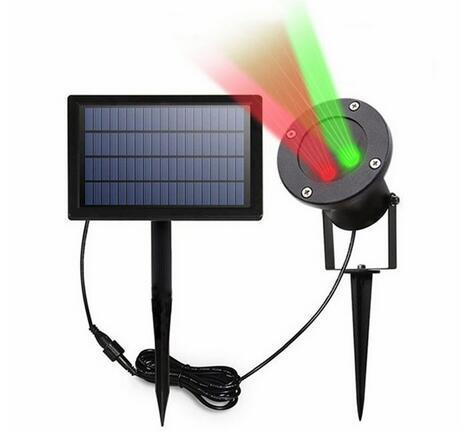 solar powered landscape lights For Garden Yard Christmas Holiday